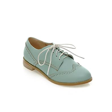 0abfbc45b2a Carol Shoes Womens Casual Lace up Oxfords Shoes