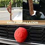 Mak Tools Christmas Reindeer Antlers Car Decoration Kit With Jingle Bell