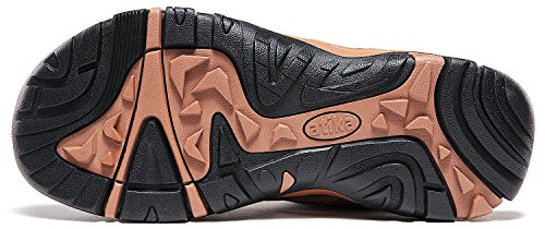 ATIKA AT-M107-BRN_Men 11 D(M) Men's Sports Sandals Trail Outdoor Water Shoes 3Layer Toecap M107 by ATIKA (Image #9)