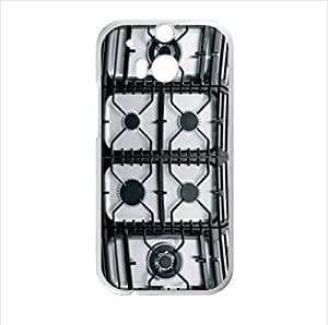 Best Custom Case - Personalized Gas Cooker Design HTC One M8 (Laser Technology) Case, Cell Phone Cover