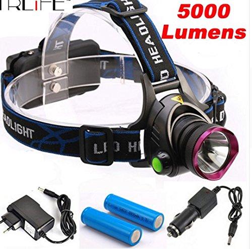 2000LM CREE XM-L XML T6 LED Headlamp Headlight Flashlight - 7
