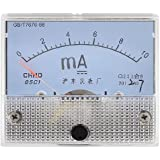 DealMux Plastic Shell Current Test DC 0-10MA Scale Range Milliamp Panel Meter