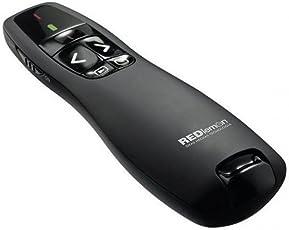 Redlemon Apuntador Laser Inalámbrico, Presentador Inalámbrico de Diapositivas, Presentador Laser, Apuntador Pase de Diapositivas, Apuntador USB, Wireless Pointer, Presentador PowerPoint