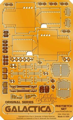 Paragrafix Original Series Galactica Photoetch Set - 1/4105 Scale