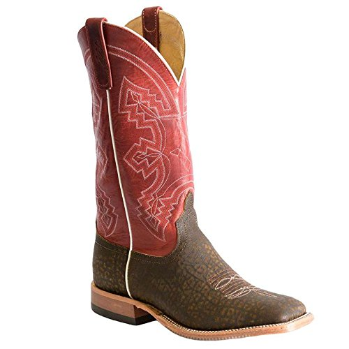Anderson Bean Mens Hungry Hippo Red Fools Goat Western ()