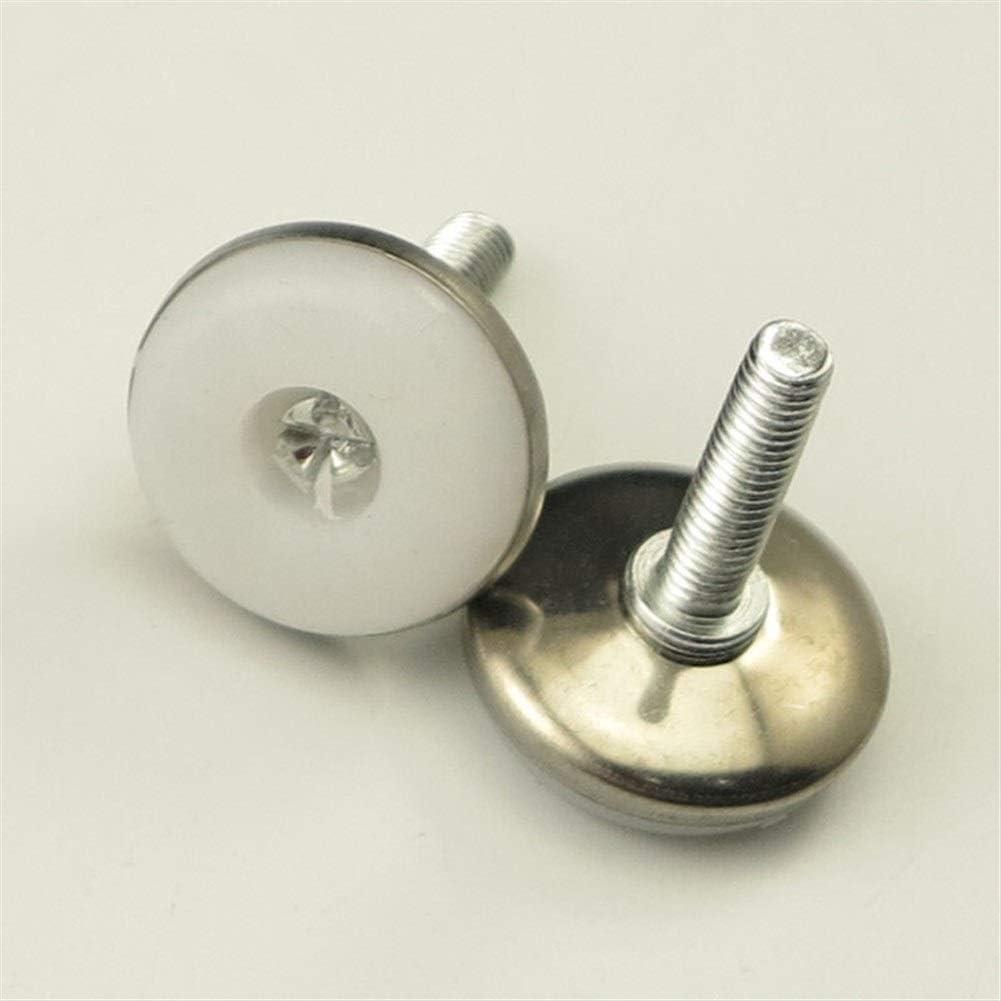 Ping.Feng 12pcs//lot Adjustable M6 Leveler Leveling Feet Table Cabinet Leg Screws Furniture Hardware QLY9584 Screws