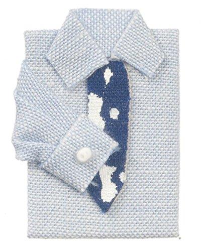 ドールハウスミニチュアメンズブルーシャツW// Tie Tie B01CJXBI60, M-kaep JAPAN:8ef6d665 --- kutter.pl