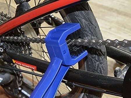 Doitsa Kette Kurbelgarnitur Pinselreiniger Reinigungsb/ürste kettenb/ürste Sauberen B/ürste Tool f/ür Auto Motorrad Fahrrad Mountain Bike Kette Rot