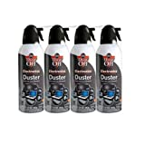 2 X Dust-Off Compressed Gas Duster - 4 Pack - DPSXL4