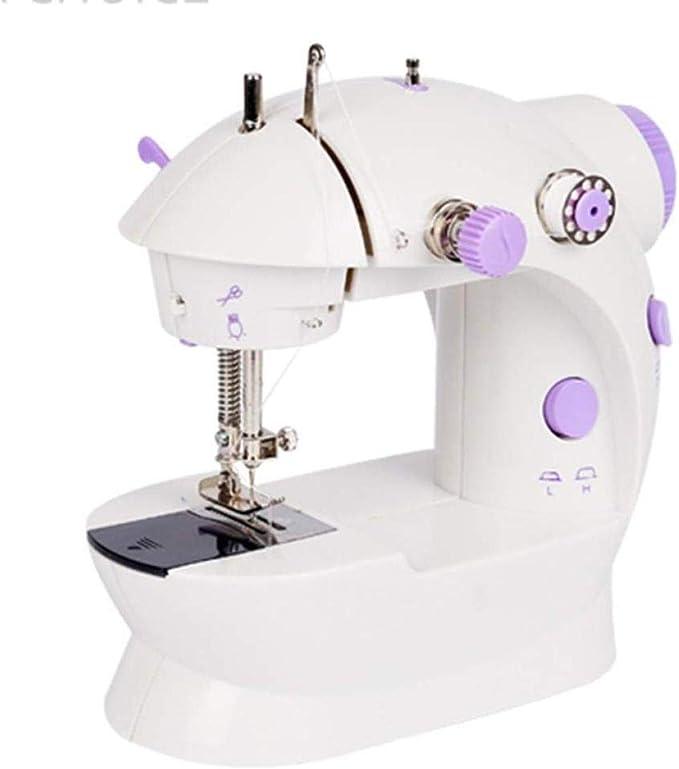 Yuaer Máquina de coser portátil eléctrica, máquina de coser ...