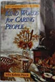 Kind Words for Caring People, Sefra K. Pitzele, 1558742107