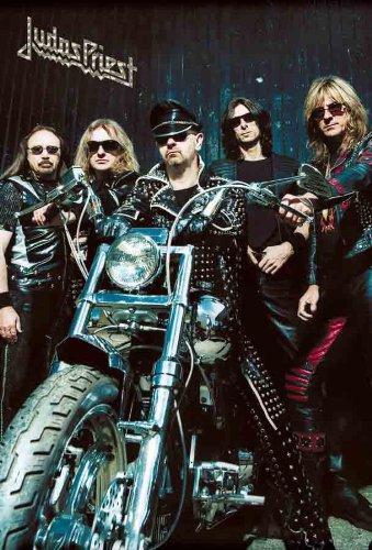Judas Priest English Heavy Metal Band Music Poster Size 24x35 Inch J-4153