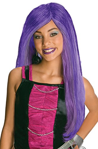 Monster High Spectra Vondergeist Child's Wig (Purple Monster)
