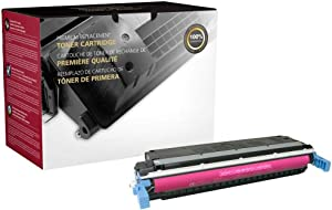 Clover Remanufactured Toner Cartridge for HP 645A C9733A   Magenta