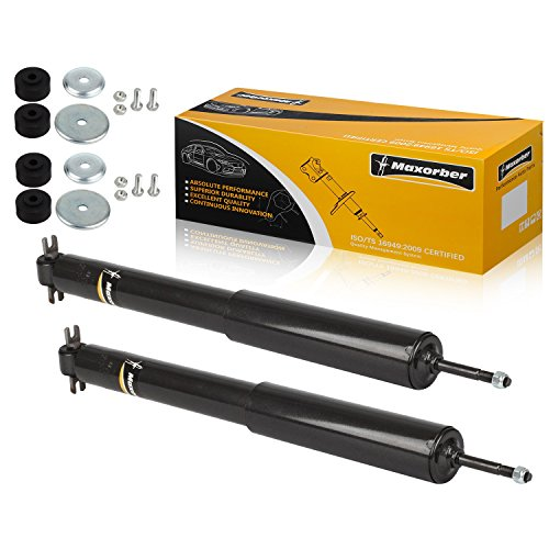 Maxorber Front Set Shocks Struts Absorber Compatible with 1994 1995 1996 1997 1998 1999 2000 2001 2002 2003 2004 Jeep Grand Cherokee Shock Absorber 344341 37161 (Cherokee Absorber Grand Jeep Shock)