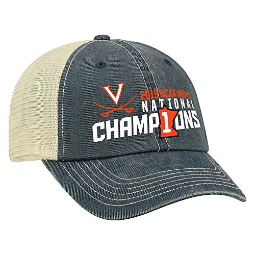 - Elite Fan Shop Virginia Cavaliers National Basketball Championship Hat Snap Back 2019 - Adjustable - Navy