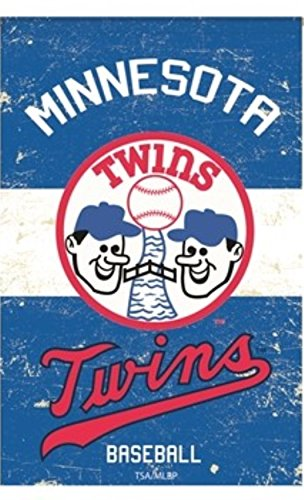 Rico Industries, Inc. Minnesota Twins EG VINTAGE Retro BANNER Premium 2-sided 28x44 House Flag Baseball