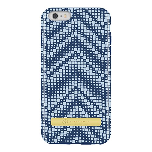 iPhone 6 Plus Case, [Protective] Trina Turk Dual Layer Case Case for iPhone 6 Plus-Hayward Blue