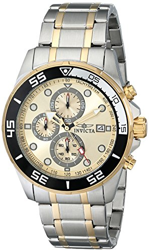 Invicta Men s 17014SYB Specialty Analog Display Japanese Quartz Two Tone Watch