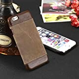 "Amozo® ENGLAND VINTAGE SERIES Leather Back Cover Case For Apple iPhone 6/6S (4.7"")*"