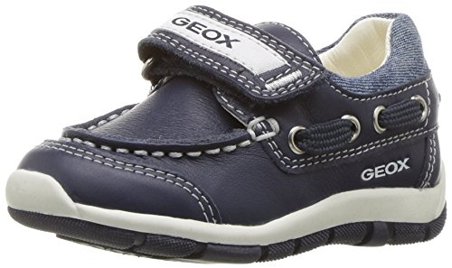 Geox Boys' Baby Shaaxboy 23 Loafer, Navy, 25 BR/8.5 M US Toddler by Geox (Image #1)