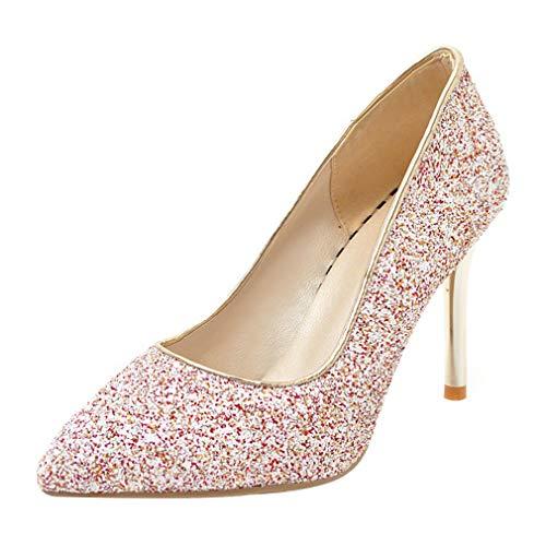 Con Rosso Alto Tacco Retro Donna On Scarpe Glitter Lavoro A Da Sposa Eleganti Ballo Vitalo Spillo Slip zBqHwU