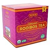 Rooibos Tea, USDA Certified Organic Tea, MY RED TEA. Tagless South African, 100% Pure, Single Origin, Natural, Farmer Friendly, GMO and Caffeine Free (160 Teabag)