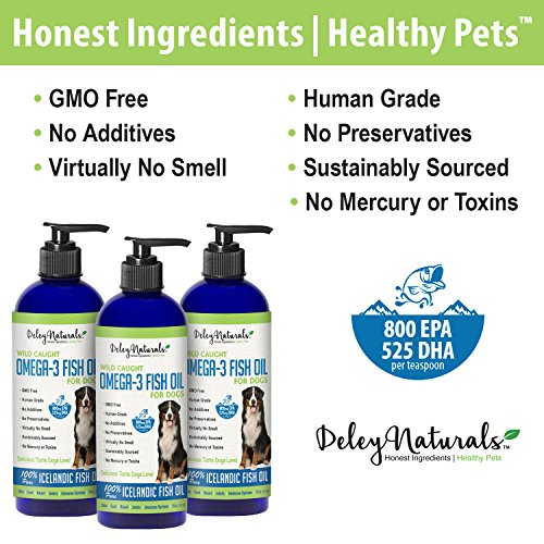 Wild caught omega 3 fish oil for dogs improves shedding for Fish oil for dogs skin
