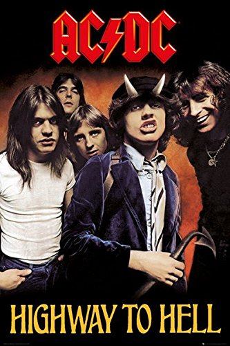 AC/DC- Highway To Hell Poster 24 x 36in