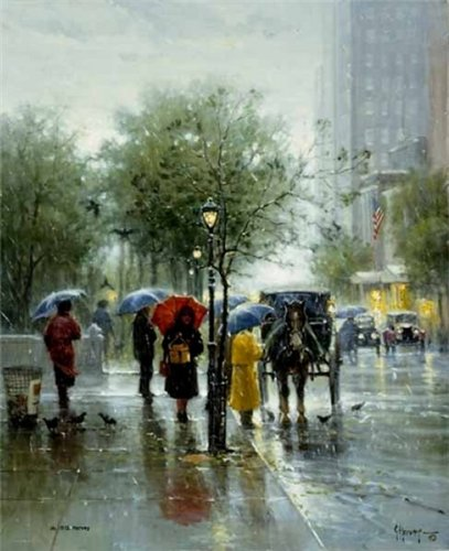 G Harvey - October Showers Serigraph for sale  Delivered anywhere in USA