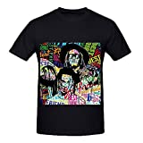 Young Thug Best Friend Rock Men Crew Neck 100 Cotton Tee Shirts Black