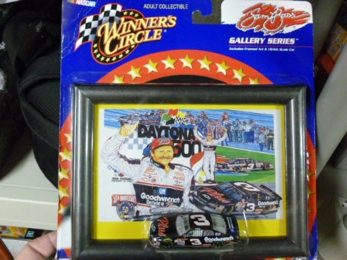 (Winner's Circle Gallery Series Dale Earnhardt Nascar Toy Car #3 (Sam Bass Art Print Series))