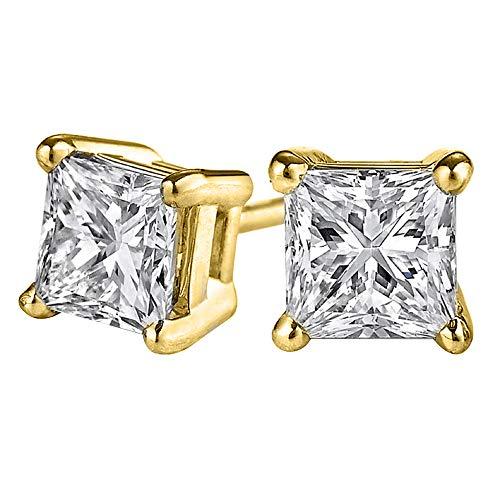 Half Carat Diamond Studs Guarantee Full Time Happiness