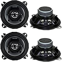 4) New Kenwood KFC-1065S 4 420 Watt 2-Way Car Audio Coaxial Car Speakers Stereo