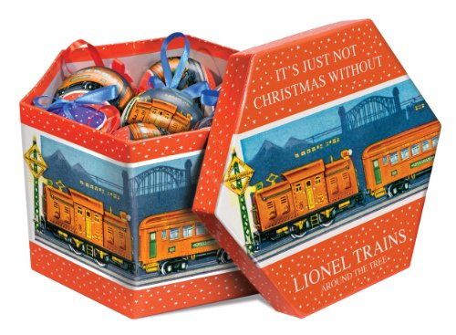 (Lionel Trains Pre-War Ornament Gift Box)