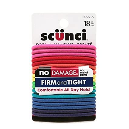 No Damage Elastic Hair Bands, Multi-Colored