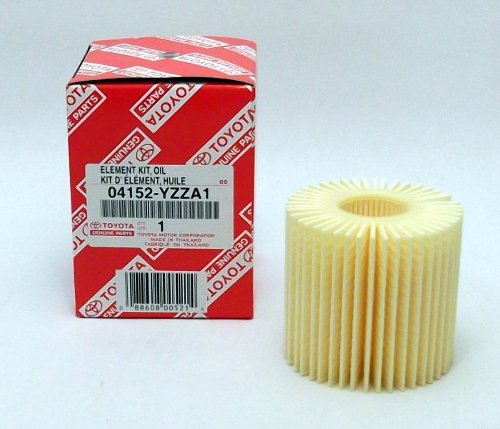 Genuine Scion - tC Oil Filter 1 Case (QTY 10) - 04152-YZZA1 by Toyota