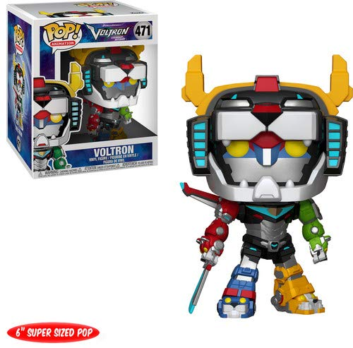"Funko Pop 6"" Animation: Voltron-Voltron Collectible Figure,"