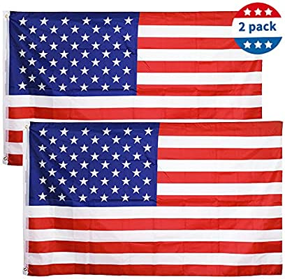 3/' X 5/' FT AMERICAN FLAG BRASS GROMMETS USA STARS AND STRIPES