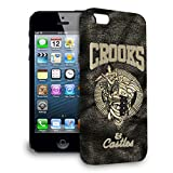 Crooks and Castles Hardshell case for iPhone 3G 3GS, iPhone 4 4G 4S, iPhone 5 5S, iPhone 5C, iPhone 6 , iPhone 6 plus , iPhone 6S (iPhone 5C)