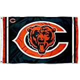 Chicago Bears Logos Flag and Banner