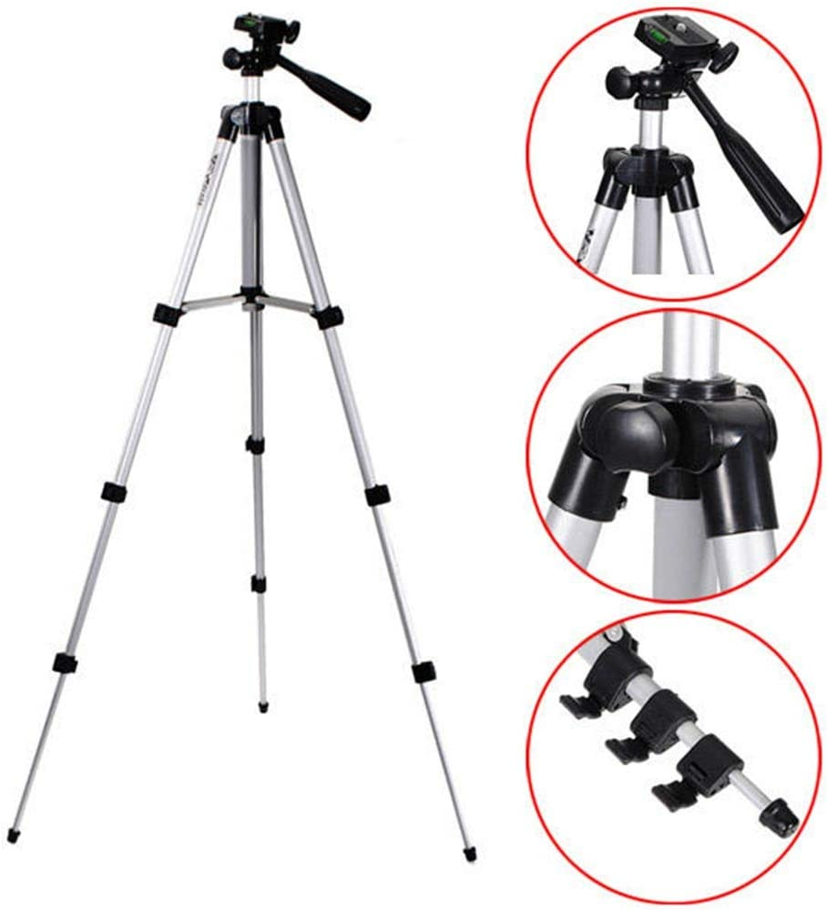 Color : Photo Color, Size : One Size LIUFENGLONG Portable Tripod 40 Inch Aluminum Tripod Stand for Camera Camcorder Photography Tripod Units