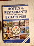 Hotels and Restaurants of Britain, 1988, British Hotels, Restaurants and Caterers Association Staff, 0133949583