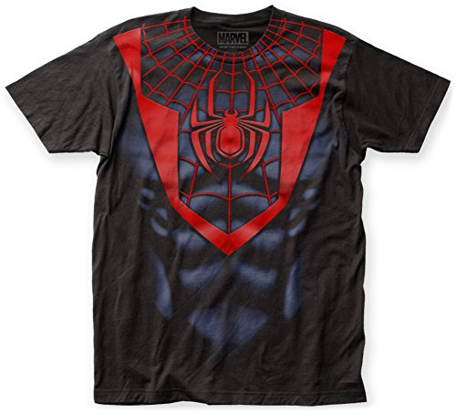 Spider-Man- Miles Morales Costume Tee T-Shirt Size L