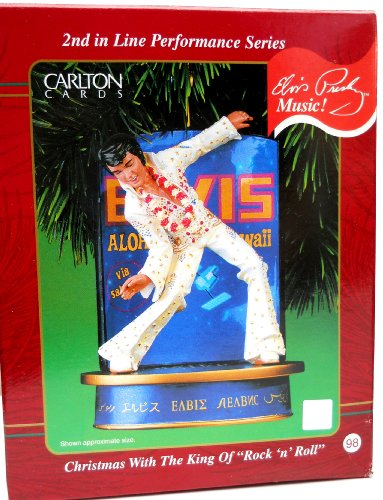 Carlton Cards Elvis Presley - Christmas with The King of Rock