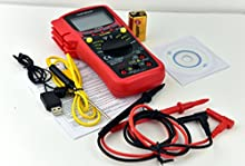 TekPower TP9605BT Auto Ranging Digital True RMS Smart Multimeter with Bluetooth & USB Connection, Free App Available for iOS and Android