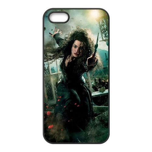 Bellatrix Lestrange iPhone 5 5s Handy-Fall Hülle schwarz V8G3CLELDE