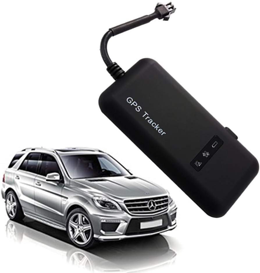 Hangang Localizador GPS de vehículo en tiempo real para coche, moto, bicicleta, GPS, GSM, GPRS, SMS, antirrobo GT02A