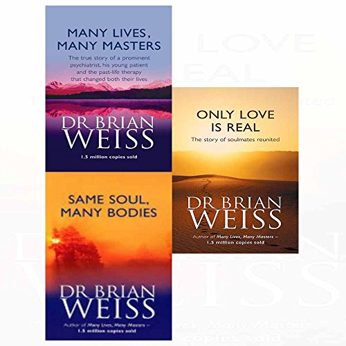 Many lives many masters, same soul many bodies, only love is real 3 books collection set