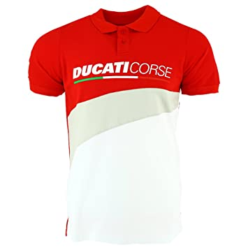 good looking on feet images of good out x Ducati Corse Moto GP Racing Logo Contrast Polo Shirt ...
